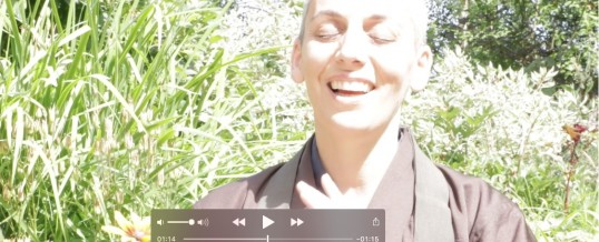 Video: A Buddhist song, for the New Year!